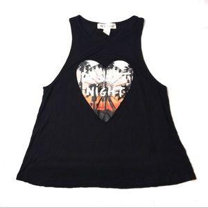 H&am - Coachella Sleeveless Black Top